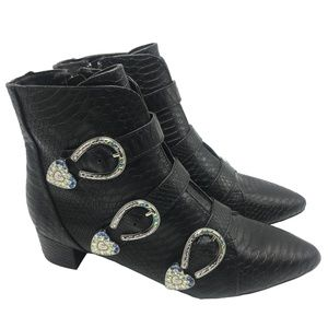 BETSEY JOHNSON Women's JONAA Boots size: 8